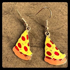 It's a Pizza Party! Perfect Earrings - NWT